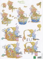 Marianne Design 3d-kuvat Ragdolls keijut