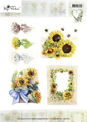 Korttikuvat Martare auringonkukat