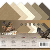 Tekstuuri korttikartongit Amy Design Wild Animals 13,5x27