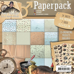 Amy Design paperipakkaus It´s a man´s world 6x6