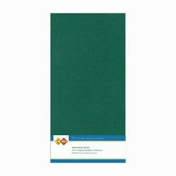 Tekstuuri korttikartongit  tummavihreä Jade 13,5x27 10kpl