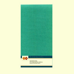 Tekstuuri korttikartongit emerald sinivihreä 13,5x27 10kpl