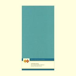 Tekstuuri korttikartongit turkoosi 13,5x27 10kpl
