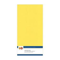 Tekstuuri korttikartongit kanariankeltainen 13,5x27 10kpl