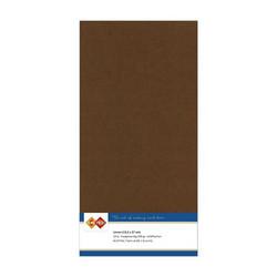 Tekstuuri korttikartongit suklaanruskea 13,5x27 10kpl