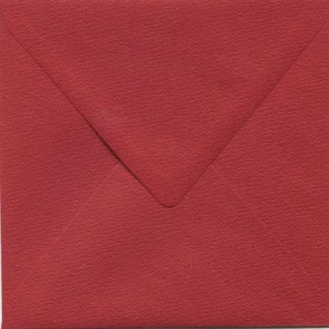 Neliökirjekuoret punainen eläväpintainen 14x14cm 10kpl