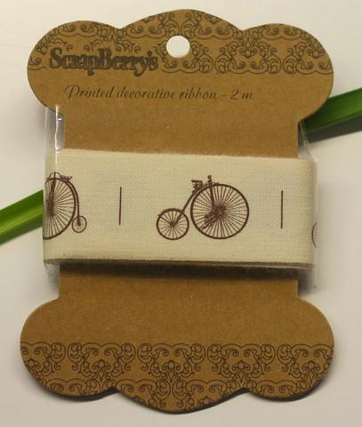 ScrapBerry´s polkupyöräkuvionauha 2m