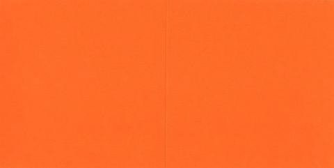 Neliökorttipohjat oranssi 13,5x13,5cm 10kpl