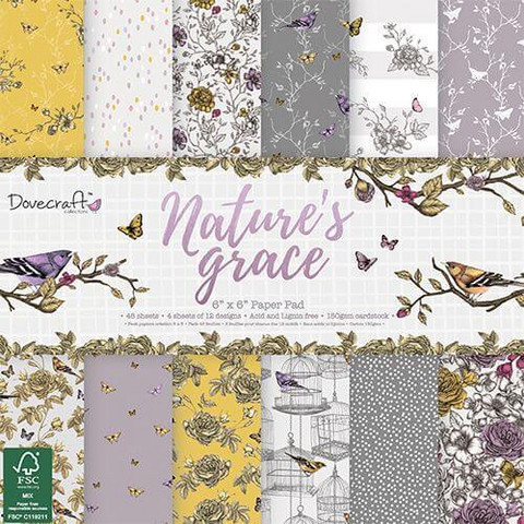 Dovecraft paperilajitelma Nature´s Grace 6x6