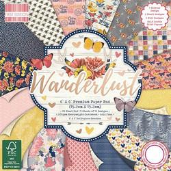 First Edition Wanderlust Premium paperilehtiö 6x6
