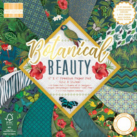 First Edition Botanical Beauty Premium paperilehtiö 6x6