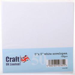 Craft UK neliökirjekuoret 5x5