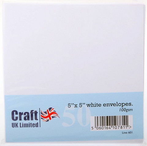 Craft UK neliökirjekuoret 5x5