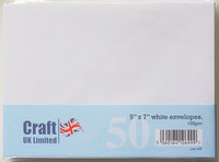 Craft UK kirjekuoret 5x7