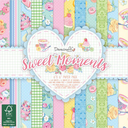 Dovecraft paperilehtiö Sweet Moments 6x6