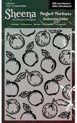 CC kohokuviointitasku Little Apples 5x7