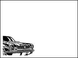 Dixi Craft kohokuviointitasku auto a6
