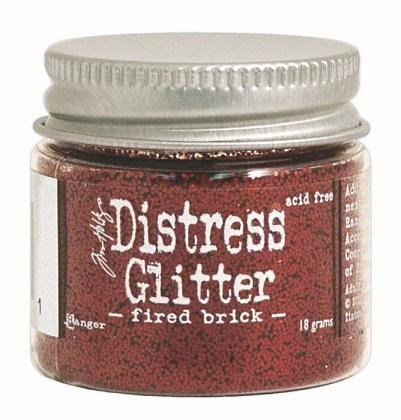 Tim Holtz Distress Glitter kimallejauhe Fired Brick
