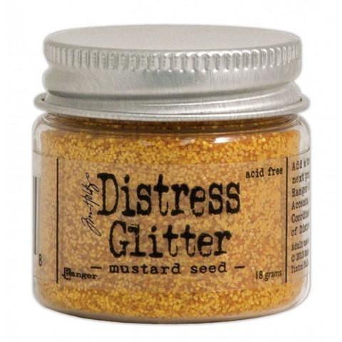 Tim Holtz Distress Glitter kimallejauhe mustard seed