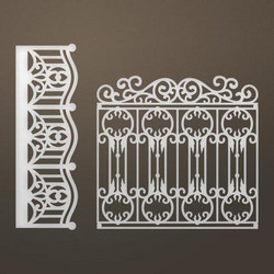 Ultimate Crafts stanssi Ornate entrance set