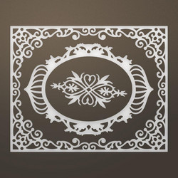Ultimate Crafts stanssit Livi Frames & Flourish set