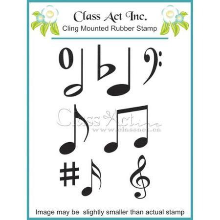 Class Act Inc leimasin Music Notes 3