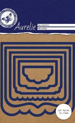 Aurelie Tabs nesting stanssit 6kpl