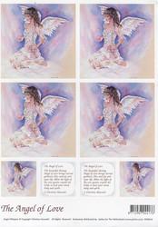 Enkelikorttikuvat The Angel of Love a4