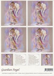 Enkelikorttikuvat Guardian angel a4