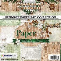 Studio Light Woodland Winter paperikko 6x6 PPWW91