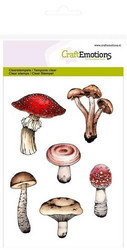 CraftEmotions leimasimet A6 mushrooms