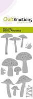 CraftEmotions stanssit mushrooms sienet