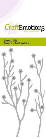 CraftEmotions stanssit 2 branches with stars