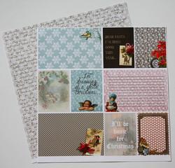 Reprint paperi Cozy winter Angel Gloria 12x12
