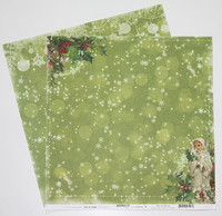 Reprint paperi Home for christmas Christmas Child 12x12
