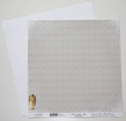 Inkido paperi Gammaldags Jul Julspets 12x12