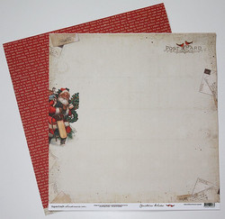 PSC paperi Christmas Wishes Northpole Express 12x12