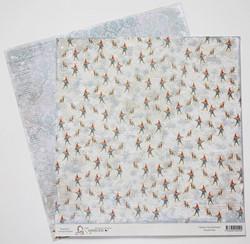Magnolia paperi Winter Wonderland North Pole 12x12