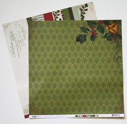 KaiserCraft paperi St. Nicholas Santa Claus 12x12