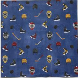 Karen Foster paperi jääkiekko Get Ready For Hockey 12x12