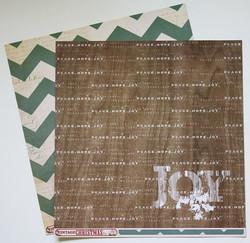 MME paperi Vintage Christmas Joy 12x12