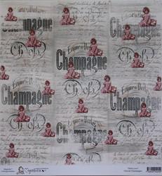 Magnolia paperi With Love Cherub Champagne