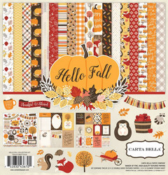 Carta bella collecktion kit paperisetti Hello Fall 12x12