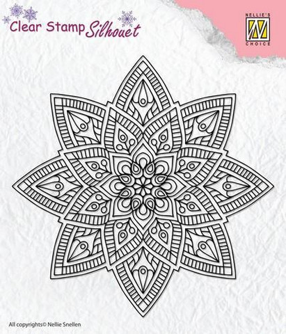 Nellie Choice leimasin Mandala 2 SIL040
