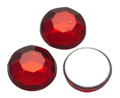 Ympyrästrassit punainen 6mm 50kpl