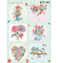 Marianne Design korttikuvat Romantic Dreams EWK1265