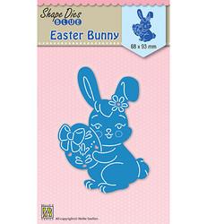 Nellie Choice Shape Dies Easter Bunny