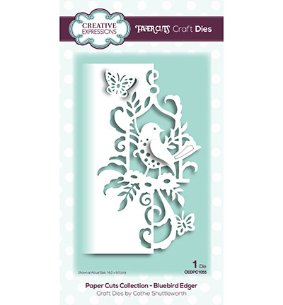 Creative Expressions stanssi The Paper Cuts Bluebird Edger
