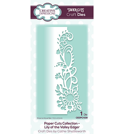 Creative Expressions stanssi The Paper Cuts Lily of the Valley Edger