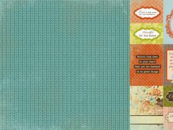 KaiserCraft skräppipaperi Marigold Tawny 12x12
